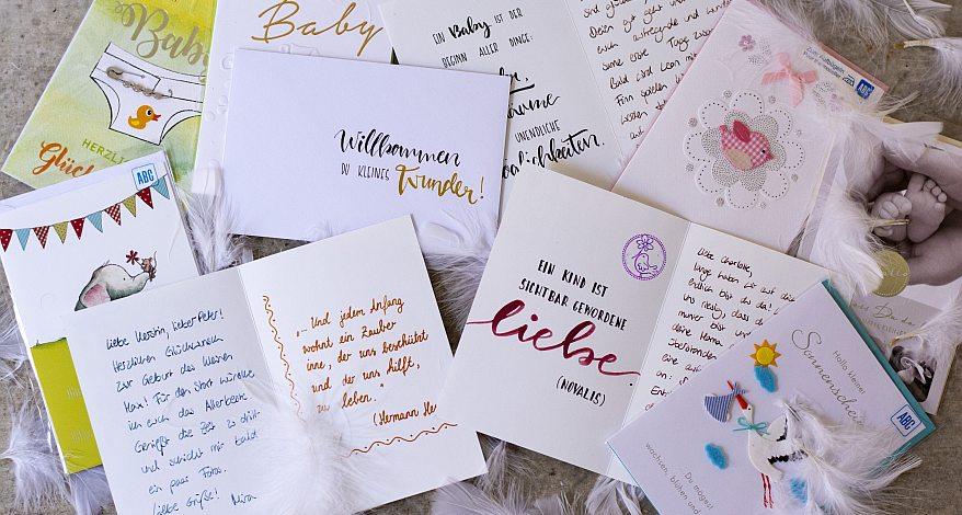 Die Schönsten Sprüche Zur Geburt News Prelle In Osnabrück