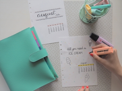 Filofax, filofaxing, Bullet Planner, Minimalistisches Bullet Planning, Bullet Planner Layouts, Bullet Planner Setup, Bullet Journal, minimalistisch, Organizer, Organiser, Planner, Journal, Journaling, Notizbuch, Kalender, moderner Wochenplaner, Routine, Me-Time, Habit Tracker, Sticker, Eis